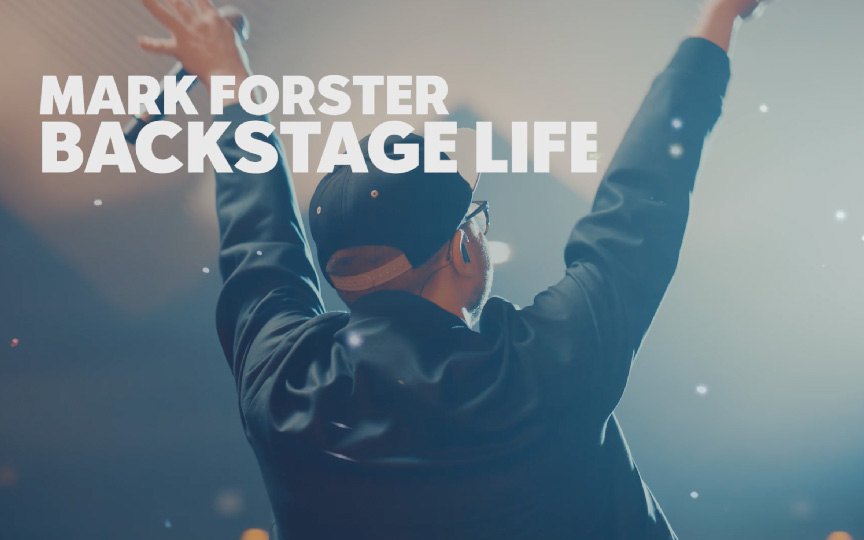 Mark Forster Backstage Life
